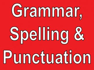 Grammar, Spelling & Punctuation Resources