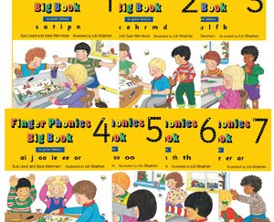 Finger Phonics Books 1-7 (In Print Letters) – JL527 – Bee